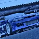 S15用フロントバンパー STガレージ アクセント