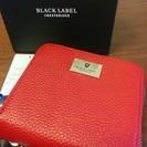 ブラックレーベルクレストブリッジのお財布正規品 未使用 定価23,...