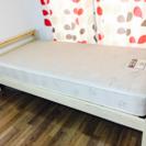 【値下げ可】ニトリ ベッド(マットレス、収納付)