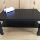 【ほぼ美品】IKEA 黒テーブル