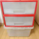 【無料】収納ボックス 3ケース 取りに来れる方対象