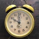 アンティークレトロ目覚まし時計EUROPA GERMANY雑貨