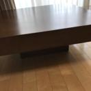 センターテーブル ローテーブル オーク材 ブラウン