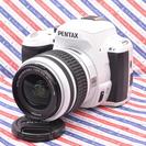 ★超人気ホワイトカラー&Wi-Fi★PENTAX K-r 505