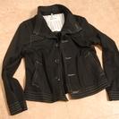 美品 SUPER HAKKA 着心地満点ジャケット 綿100% ブラック