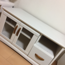 白色 テレビボード