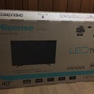 ジャンク品 ハイセンス社40型TV...