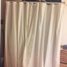 [取り置き中] 売ります: 横幅調整可能 カーテンつきハンガーラッ...