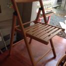 IKEA折りたたみ椅子 美品 荻窪 五分