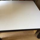 折りたたみローテーブル  天板は白黒リバーシブル