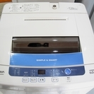 2014年製 洗濯機 ハイアール AQW-S60B 洗濯容量6.0kg