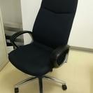 椅子(肘付き 黒色)1脚