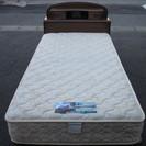 フランスベッド マットレス付き シングルベッド