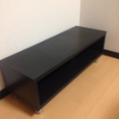 32V型テレビ台 ブラック