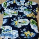 GAP ギャップ 半袖シャツ アロハシャツ80