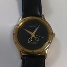 美品 KRONE ユニークな時計 美容師さんにぴったり!