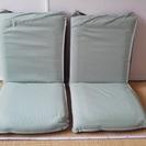 うぐいす色の座椅子