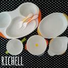 【取引中】Richell ベビー食器 セット 離乳食