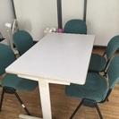 事務所、テーブル、椅子セット