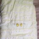 ベビーベッド用掛け布団二種類
