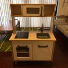 *美品* IKEA DUKTIG ままごとキッチン ミニキッチン