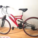 マウンテンバイク風自転車 26inch 18段変速