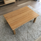 無印良品ローテーブル