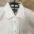 【中古】白カッターシャツ2