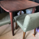 テーブルと椅子2脚組