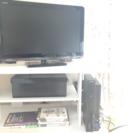 ホワイトのテレビ台
