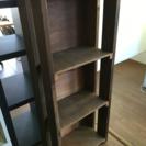 手作り、木製 ジャンクスタイルの棚