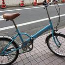 500円 折り畳み自転車