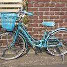 子供用自転車 パナソニック 24インチ チャペル (ブルー) B-...