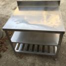 ステンレス作業台 背付 厨房機器