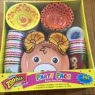 子供パーティーに最適動物紙皿セット
