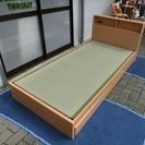 (株)九州電話通信機 畳ベッド 引き出し付 シングルサイズ 中古品
