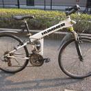 HUMMER(ハマー)マウンテンバイク ダブルサスペンション 26インチ