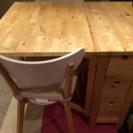 IKEA 伸長式 ダイニングテーブル