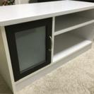 美品 白 TVボード
