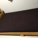 ベッドフレーム付きマットレス