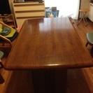 テーブル差し上げます
