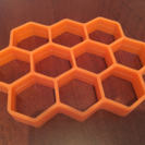 ハチの巣ホットケーキ(o^^o)