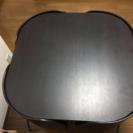椅子の出ない食卓テーブルセット