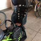 (交渉中)自転車チャイルドシート OGK ヘッドレスト付デラックス...