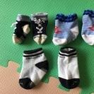 新生児靴下3足で100円
