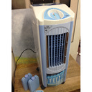 水の力で冷えすぎない、やさしい冷風  ユーパ 冷風扇 TK-AC0...