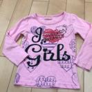 女の子用 100サイズ  長袖シャツ