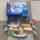木製おもちゃ シティトレインセット 新幹線  3歳以上
