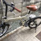 折り畳み自転車 6段切り替え