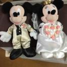 ミッキー ミニー ペア ぬいぐるみ ブライダル 結婚式